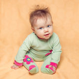 Small funny child. Royalty Free Stock Photos