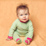 Small funny child. Stock Image