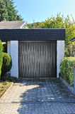 Small garage for one car Stock Photography