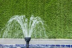 Small garden fountain Stock Images