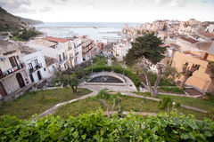 Small garden in Mediterranean town Stock Photography