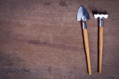 Small Gardening Tools Stock Photography