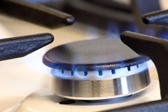 Small gas burner Royalty Free Stock Images