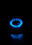 Small gas stove royalty free stock images
