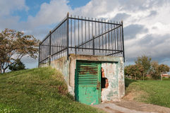 Small Gate With Fence Stock Photo