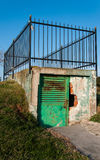 Small Gate With Fence Royalty Free Stock Images