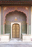 Small gate of Jaipur City Palace Stock Photos