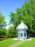 Small gazebo in park, Canada (vertical) Stock Images