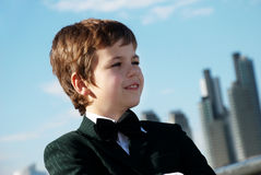 The small gentleman Stock Images