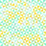 Small geometric abstract mosaic pattern Royalty Free Stock Photos