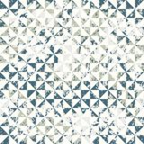 Small geometric abstract mosaic pattern Royalty Free Stock Photo