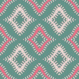 Small geometric pattern painted by hand Stock Image
