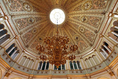 Small Georgievsky hall ceiling Royalty Free Stock Images