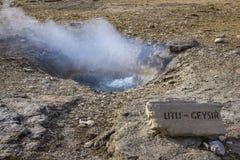 Small geyser, Iceland Stock Photo