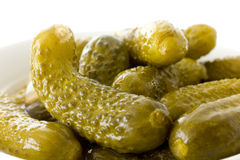 Small gherkins Royalty Free Stock Photos