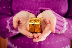 Small gift Royalty Free Stock Images