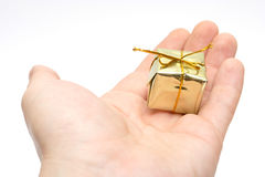 Small gift Royalty Free Stock Photo