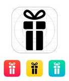 Small gift box icons on white background. Vector illustration Royalty Free Stock Images