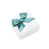 Small Gift Box on White Royalty Free Stock Photos
