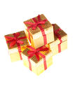 Small Gift Boxes Royalty Free Stock Photos