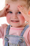 Small girl royalty free stock photo
