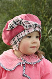 Small girl in pink Royalty Free Stock Photo