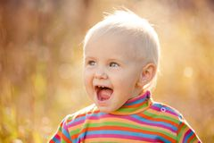 Small girl portrait Royalty Free Stock Photography