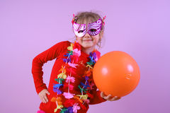 Small girl's party Royalty Free Stock Photos