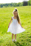Small girl smiling. Stock Photos