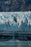 Small glacial calving Stock Photos