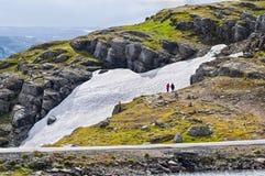 Small glacier in Norway Stock Photos