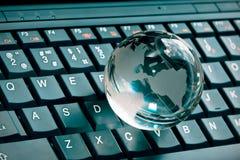 Small glass globe Royalty Free Stock Image