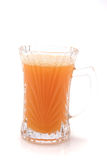 Small glass with orange juice Royalty Free Stock Photo