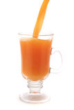 Small glass with orange juice Royalty Free Stock Photography
