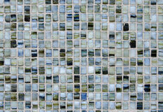 Small glass tiles texture Stock Image