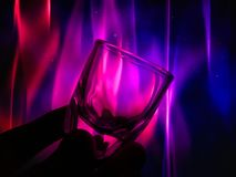 Small glass for use in drinks. The backdrop is a beautiful color Use it for a happy background. - I like the feel of this, might be something l try to create stock image
