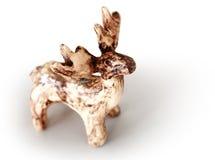 Small glazed moose Royalty Free Stock Image