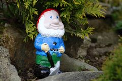 Small gnome Stock Photography