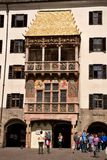 Small golden roof ( Museum Goldenes Dachl ) Royalty Free Stock Image