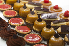 Small gourmet pies made by master craftsman Royalty Free Stock Photography