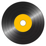Small gramophone record Royalty Free Stock Images