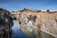 Small granite quarry Stock Image