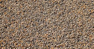 Small gravel from limestone. Royalty Free Stock Photography