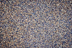 Small gravel pattern background Royalty Free Stock Photos