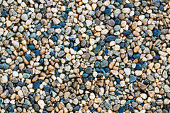Small gravel pattern background Stock Photo