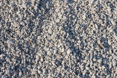 Small gravel stones on  construction site Stock Images