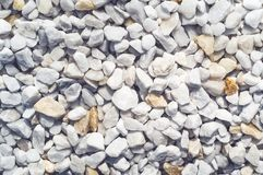 Small gravel stones, Gravel texture abstract background stock photo