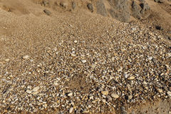 Small gravel stones texture background Royalty Free Stock Photography
