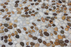Small gravel texture Royalty Free Stock Photos