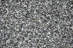 Small gravels. Mixed small gravel as background Stock Images